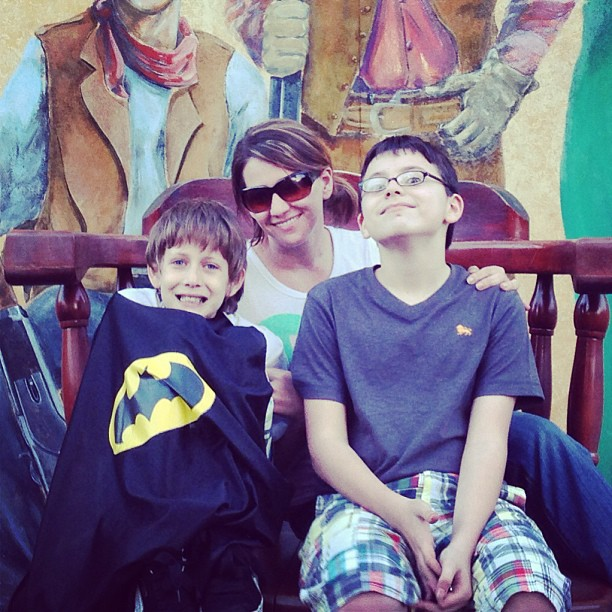 sharon and kids