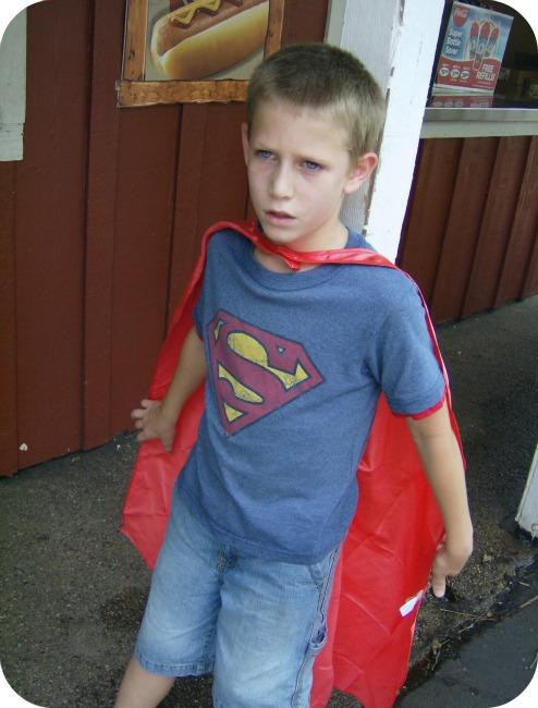 He is my Super Boy! – Wordless Wednesday