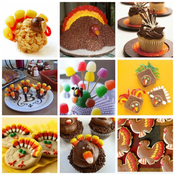 Thanksgiving Turkey Themed Deserts And Foods Roundup