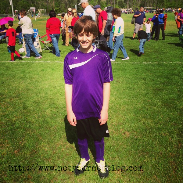 My Little Soccer Player – Wordless Wednesday