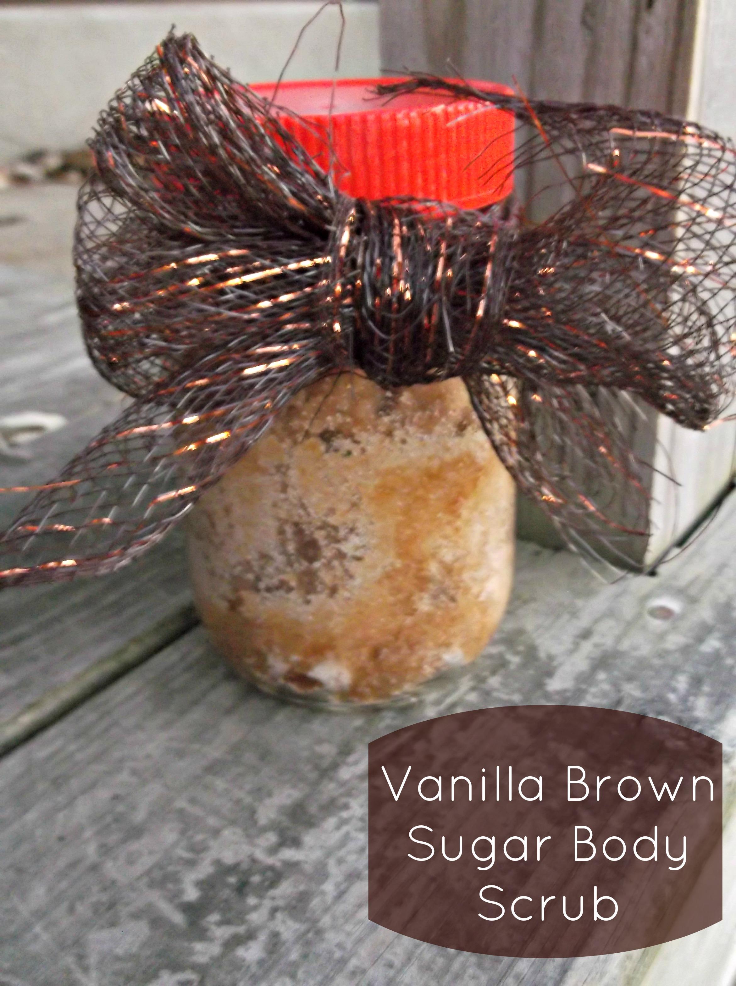 Vanilla Brown Sugar Body Scrub – Homemade Recipe