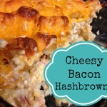 cheesy bacon hashbrowns