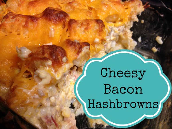 Cheesy Bacon Hashbrowns – Recipe