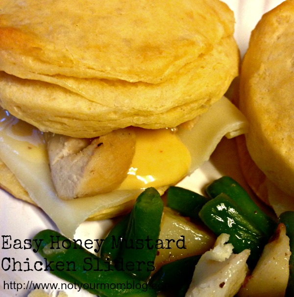 honey mustard chicken sliders