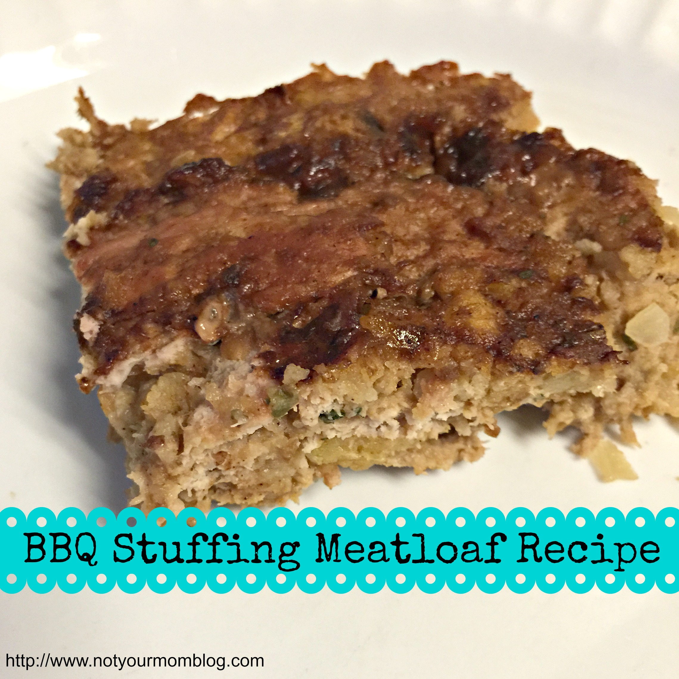 BBQ Stuffing Meatloaf Recipe