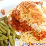 easy chicken parmigiana recipe blog pinterest