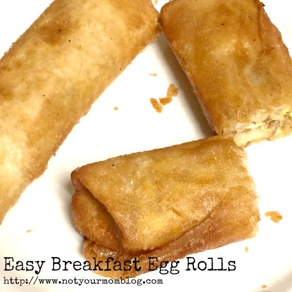 easy breakfast egg rolls