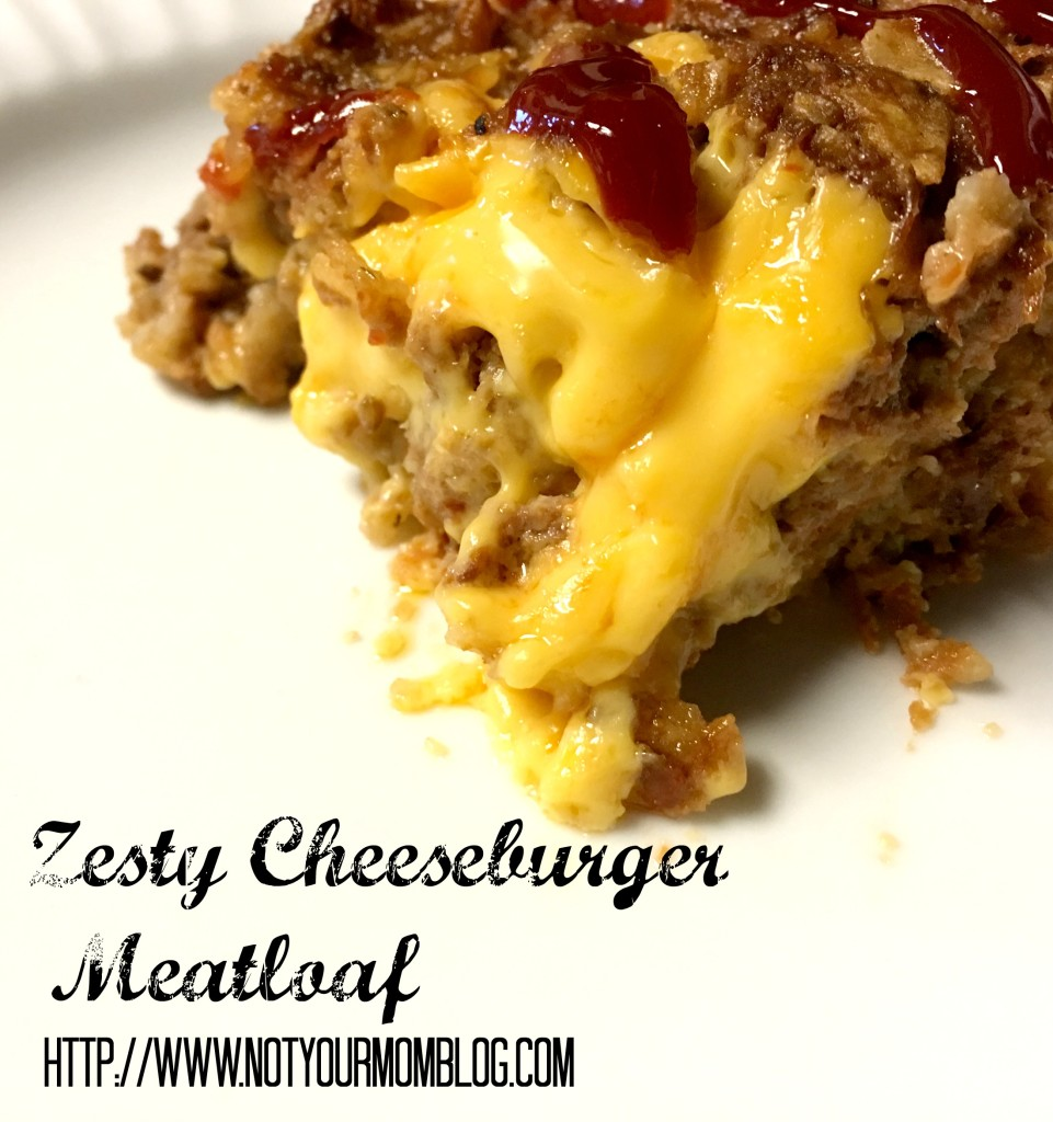 zesty cheeseburger meatloaf recipe